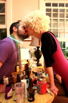 Mardi Gras Kiss