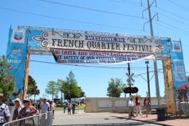 French Quarter Fest - Cat Landrum