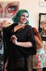 Burlesque Dancer Cherry Brown - Cat Landrum