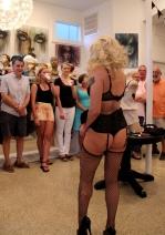 Burlesque Dancer Foxy Flambeaux - Cat Landrum